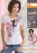 Lockre Sitzende Damenblusen,-Tops & -Shirts mit Kurzarm-Ärmelart ohne Kragen für Freizeit