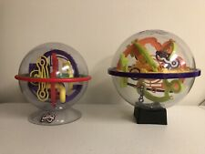 Lot of 2 - PERPLEXUS Puzzle Games - Original and Rookie - With Stands