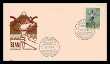 Iceland 1964 FDC, The Olympic Games In Toyko. Lot # 1.