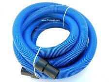 Carpet Cleaning 25 Crush Proof Vacuum Hose 1 12 Blue