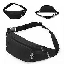 NEU Bauchtasche Gürteltasche Hüfttasche Sport Bag Outdoor Taschen Schwarz