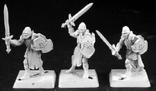 Templar Knights Crusaders x 9 Reaper Miniatures Warlord Fighter Paladin Melee
