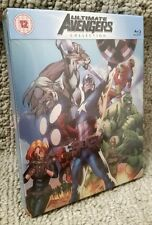 Marvel Comics ULTIMATE AVENGERS Blu-Ray STEELBOOK Iron Man Thor Captain America