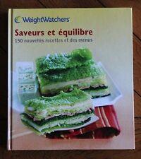 livre Weight Watchers Saveurs et équilibre