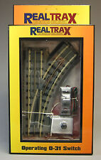 MTH REALTRAX OPERATING 031 RIGHT HAND SWITCH O GAUGE train accessory 40-1004 NEW