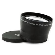 72mm (74mm) 2.2X Tele Telephoto Lens FOR SONY DSC-H50 DSC-H7 camera