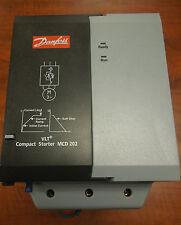 Danfoss VTL Cmpact Starter MCD 202-055-T6-CV3 100 Amp Used