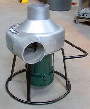 """Aluminum Coppus Portavent 500 .5HP Explosion-Proof Blower w/ 5"""" Outlet 560cfm"""