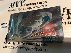 1995 SkyBox Star Trek Voyager Series One Factory Sealed Box - 36 Packs
