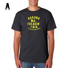 R 0170 HAKUNA MATATA Fans T-shirt Lion King Fans Walt Disney Fans Funny Pumba
