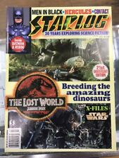 Starlog Magazine Jul 1997 #240 Jurassic Park: The Lost World