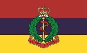 ROYAL ARMY MEDICAL CORPS FLAG 5' x 3' RAMC British Army Military Armed Forces