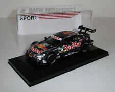 1/43 BMW M4 DTM Red Bull voiture miniature neuve