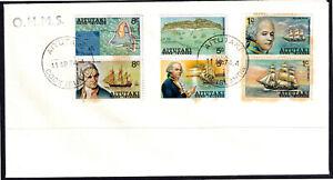 Aitutaki 1974 OHMS 185th Anniversary Of Bligh's Discovery Of Aitutaki FDC- Mint