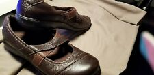 Women's Clarks Bendables Shoes Size 11 Brown Leather NICE SHOES!