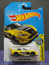 Hot Wheels New 2017 '15 MAZDA MX-5 MIATA, HW SPEED GRAPHICS series 9/10. D Case