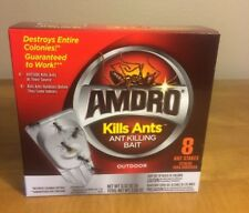 Amdro Ant Control Bait - 8 Ant Bait Stakes-Outdoor--New in Box