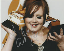 Adele Signed autographed vintage  8 X10 photo + COA