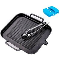 BBQ Barbecue Aluminum Frying Grill Pan Plate Non Stick Coating
