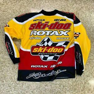 Ski-Doo Racing Shirt Rotax Racing Sno Gear snowmobile 4 wheeler XXL ribbed cuffs