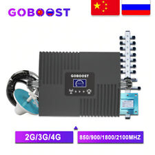 GOBOOST GSM Repeater 2G 3G 4G Cellular Signal Amplifier Cellular Amplifier Phone