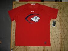 MENS 3XLARGE RED NIKE ND STATE BISON SS ATHLETIC SHIRT - NWT