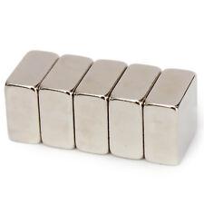 5pcs 10mm x 10mm x 4mm forts terre rare néodyme carré bloc aimants