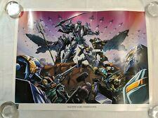 Transformers Machine Wars: Termination Lithograph Print 2013 Botcon LADV05