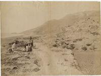 Suedie Seleucia Siria Albumina Vintage Albume D'Uovo Ca 1880