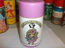 Cherry,Merry,Muffin`1988`Mattel Inc-Plastic Thermos`W/SipTop->Nice-:>Free To US