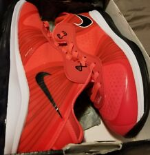 LeBron 8 V/2 Low Solar Red Size 8