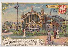 Francoforte stazione centrale artista Tesar AK 1898