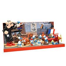 DIE SCHLÜMPFE Smurfs Collection 3 komplett 12 Figuren mit Display  PIXI