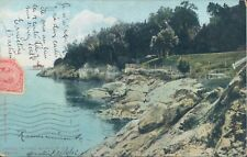 CANADA Quebec Greve Pointe au pic beach 1906 PC
