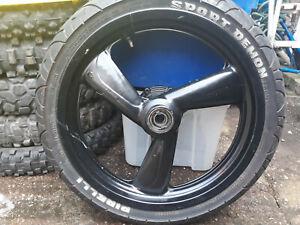 Sachs XTC125 XTC 125 4T Front wheel + Tyre Black