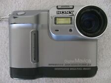 SONY MAVICA MVC-FD 83 DIGITAL CAMERA WITH 3 BATTERIES AND CHARGER USED