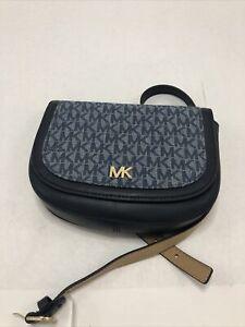 Michael Kors Blue Signature Belt Bag S/M (0107)