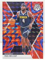 Paul Millsap 2019-20 REACTIVE BLUE MOSAIC PRIZM Veteran Card #181 Denver Nuggets