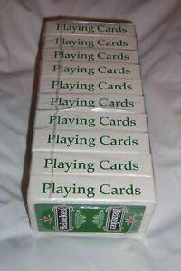 """Lot of 10 Vintage Heineken Bier Beer Playing Cards Made in Belgium 2.25""""x3.5"""""""