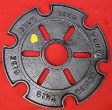 Corn Seed Plate for CB&Q #1 - #7 Horse Mule Drawn Planter Early IH McCormick