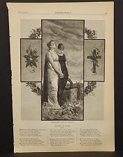 Harper's Weekly Single Page B1#65 Jun 1878 Decoration Day -By C. S. Reinhart
