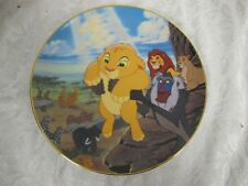 Disney Bradford Collector Plate Lion King The Circle Of Life Simba