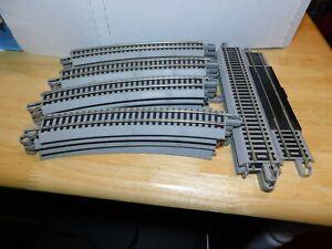 Mom~Bachmann Train Tracks On Gray Platforms 20Pc. Set