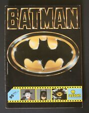1989 Aston BATMAN TRADING CARDS ALBUM (TIM BURTON'S MOVIE) 100% complete!!!