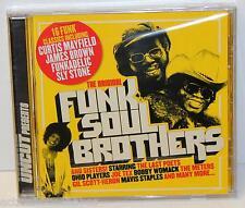 UNCUT Presents The Original FUNK SOUL BROTHERS - 1-Disc CD (2005) NEW 16 Tracks