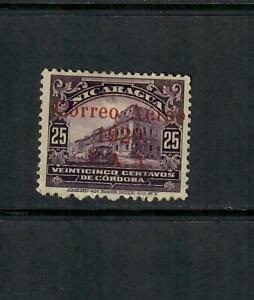 Nicaragua MH Disturbed Gum Scott# C3  Year 1929  Free Ship inside of USA