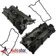 New Engine Valve Cover Left & Right Side For 02-07 Altima Maxima Murano I35 3.5L