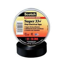 "3M Scotch Super 33+ Vinyl Electrical Tape, 3/4"" x 66ft"