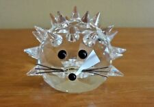 Swarovski Hedgehog Animal Crystal Figurine Retired