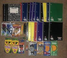 Lot back School Supplies..paper,pencils,ink pens.lot more